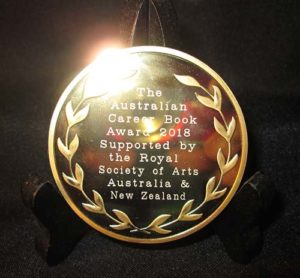 Australian Career Award medallion